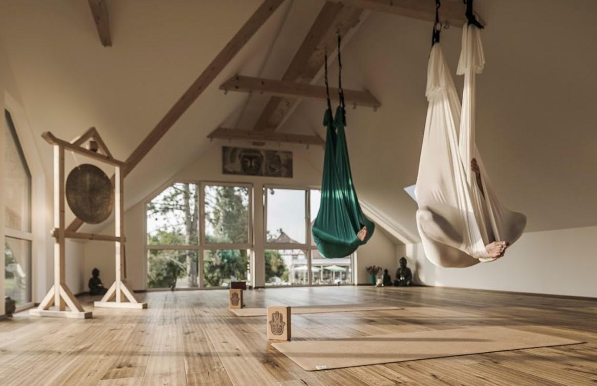 yogamatte lang