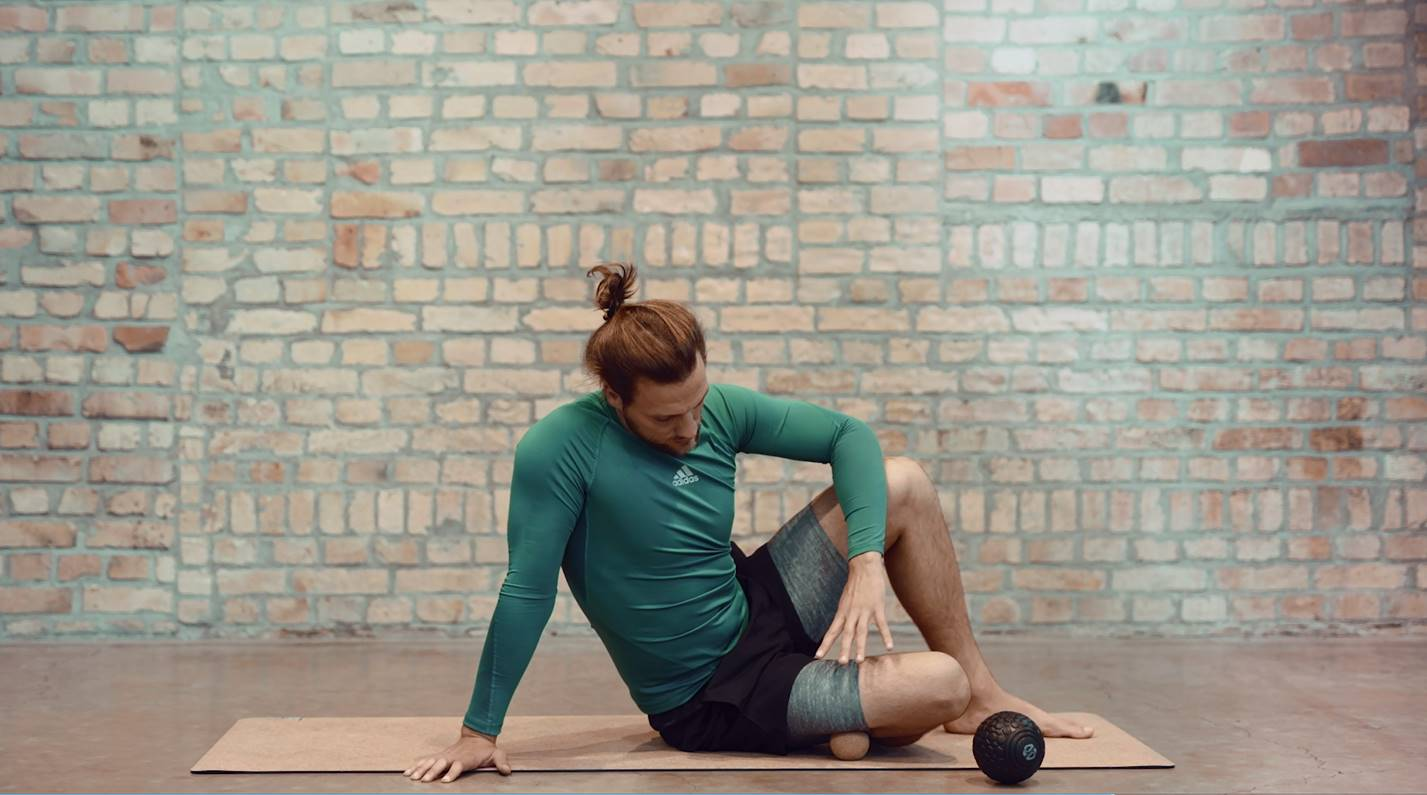 faszientraining mit massageball