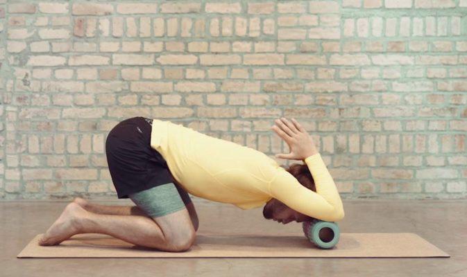 faszien yoga uebung