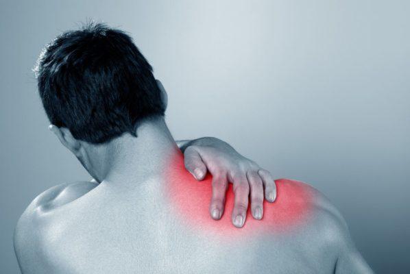 Kalkschulter Schmerzen